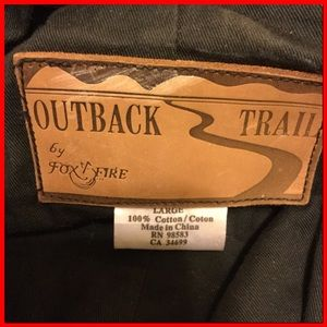 85933bf03b3 Outback Trail by Foxfire Jackets & Coats - Oilcloth Trench/Chaps Duster Coat